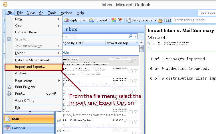 Import/Export Opera Mail to Outlook with Opera Mail to PST