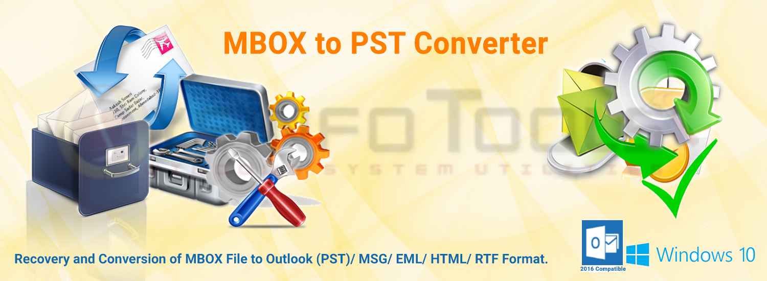 MBOX to PST Converter Banner